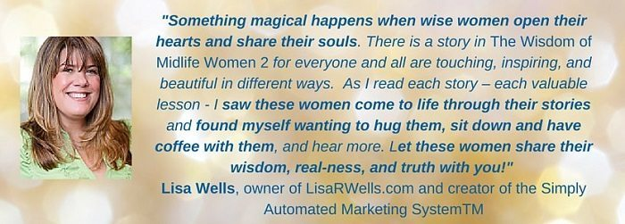 The Wisdom of Midlife Women 2Testimonial Lisa Wells